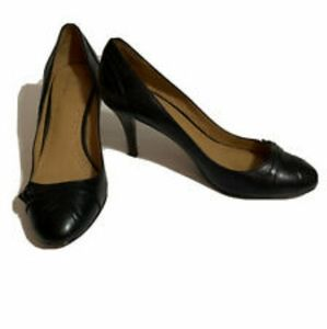 BROOKS BROTHERS genuine leather black shoes